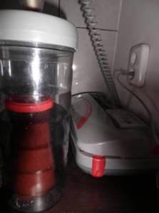 borcan pus in cilindru pentru vidat
