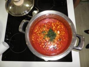 Ciorba de legume / in vas de 5,6 / 24 cm.