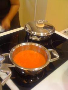 Suc de rosii si ardei, preparat cu mixsy/ zepter.