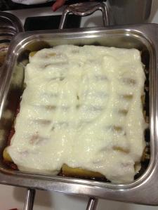 cannelloni cu sos bechamel