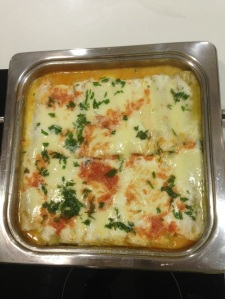 cannelloni preparati in quadra